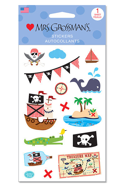 Ahoy Pirates Stickers - Mrs. Grossman's