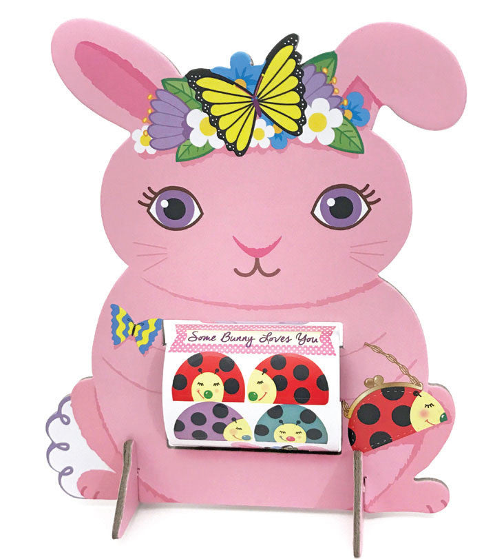 Butterfly Bunny Sticker Friend, sticker, Mrs. Grossman's Stickers