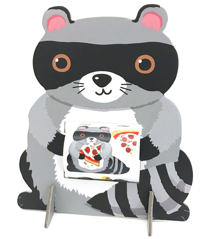 Sticker Friend - Raccoon, stickers, Mrs. Grossman's Sticker Factory