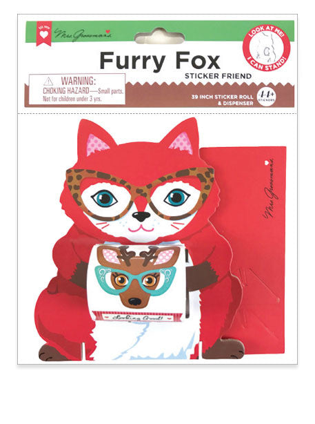 Furry Fox Sticker Friend - Mrs. Grossman's
