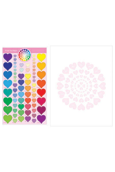 From the Heart Sticker Kaleidoscope™, sticker, Mrs. Grossman's stickers