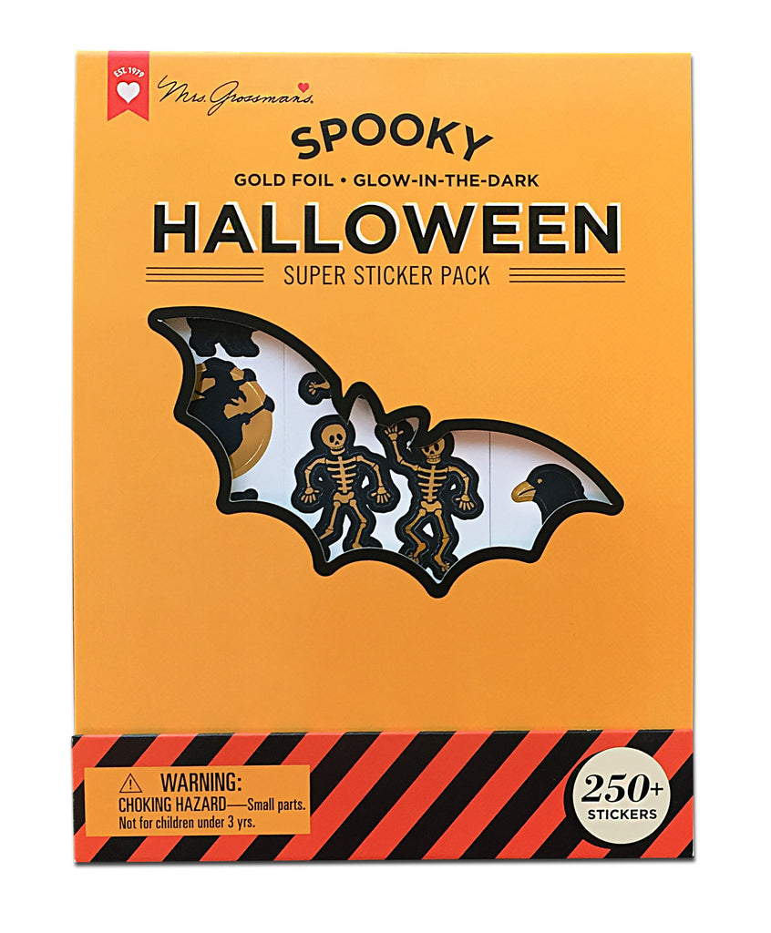 Halloween Super Sticker Pack - Mrs. Grossman's