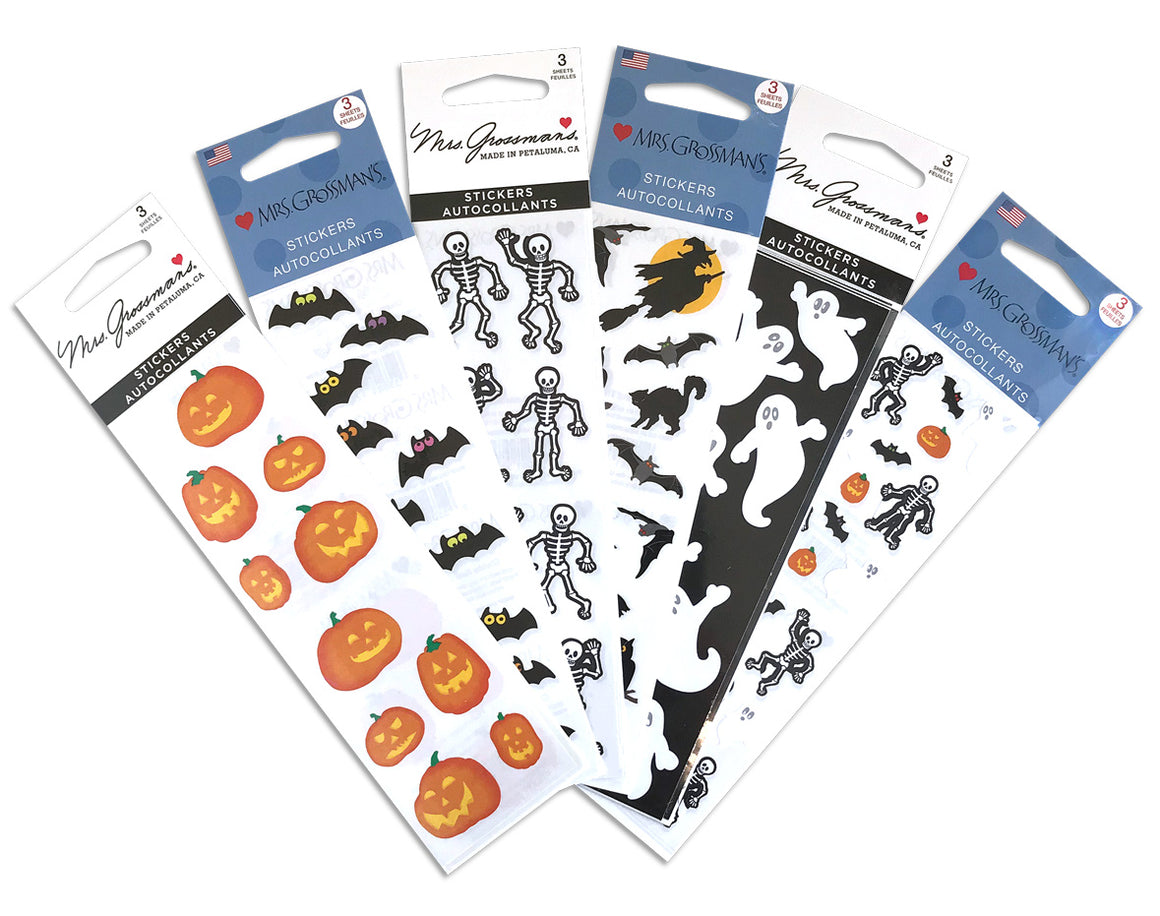 Halloween Sticker Bundle - Mrs. Grossman's