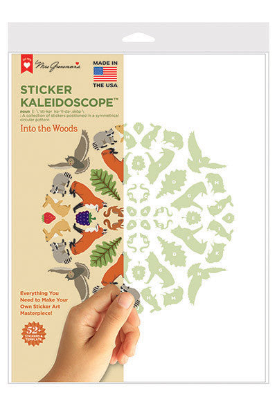 Sticker Kaleidoscope, Available here, at Mrs. Grossman's online sticker shop!
