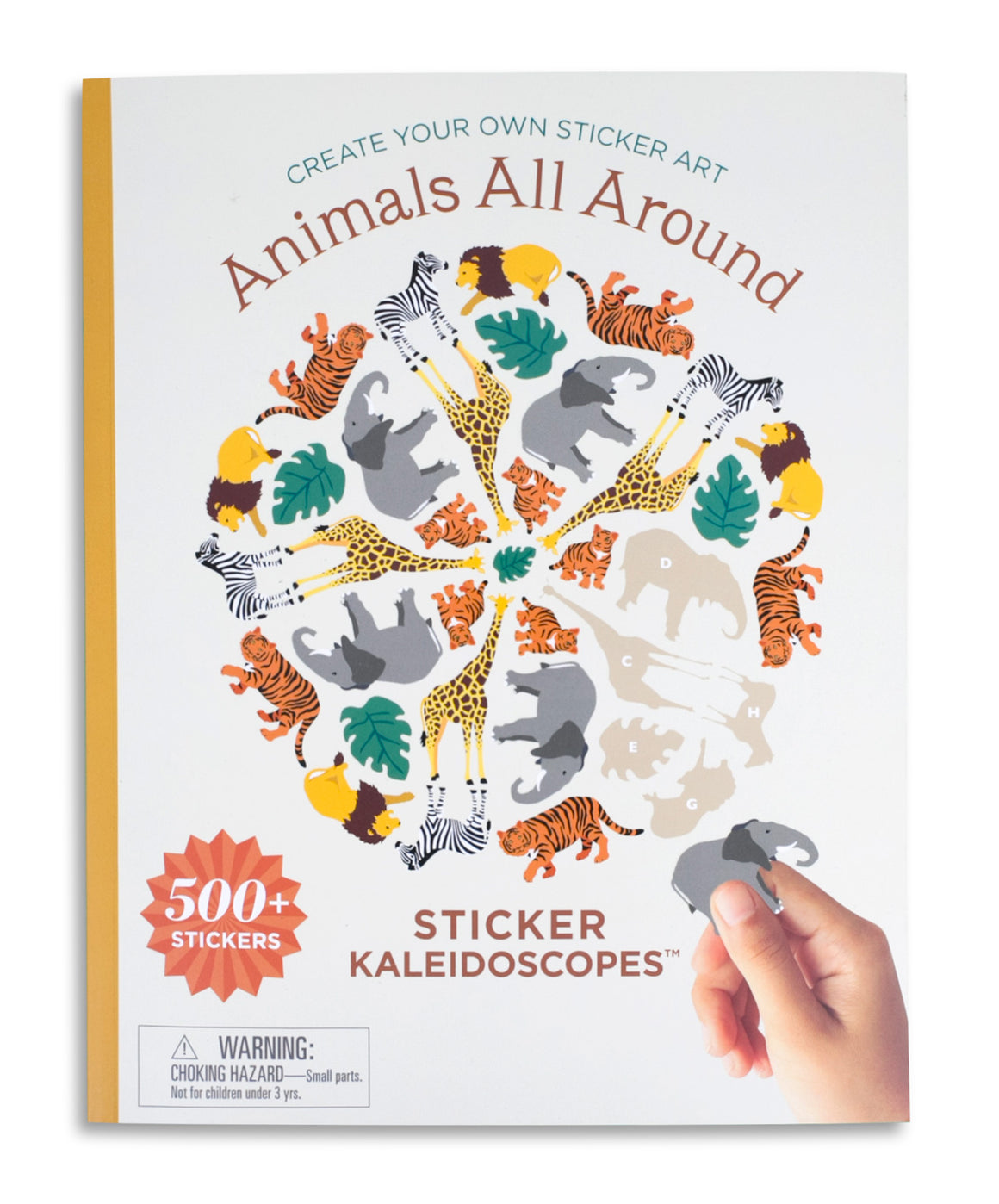 Animals All Around Sticker Kaleidoscopes™ Book - Mrs. Grossman's