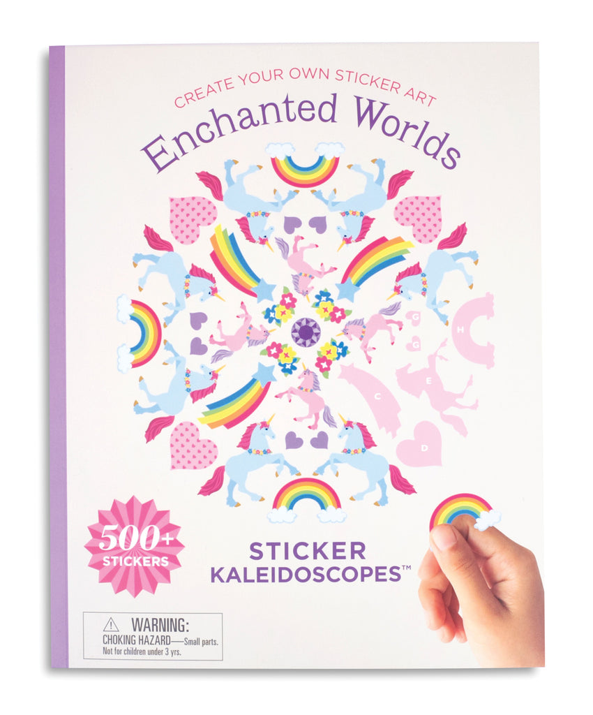Enchanted Worlds Sticker Kaleidoscopes™ Book - Mrs. Grossman's