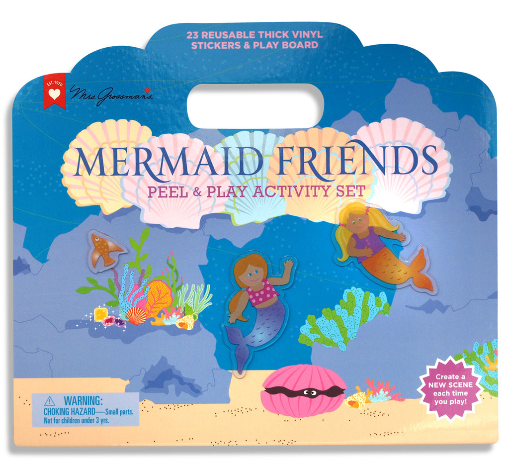 Mermaid Friends Peel and Play Activity Set