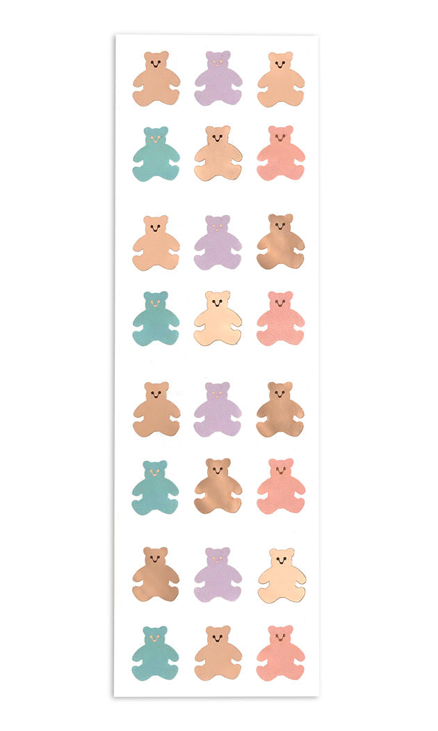 Mini Bears - with Rose Gold