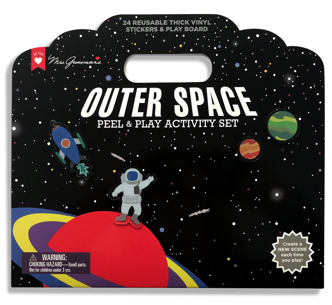 Outer Space Peel & Play Activity Set - Mrs. Grossman's