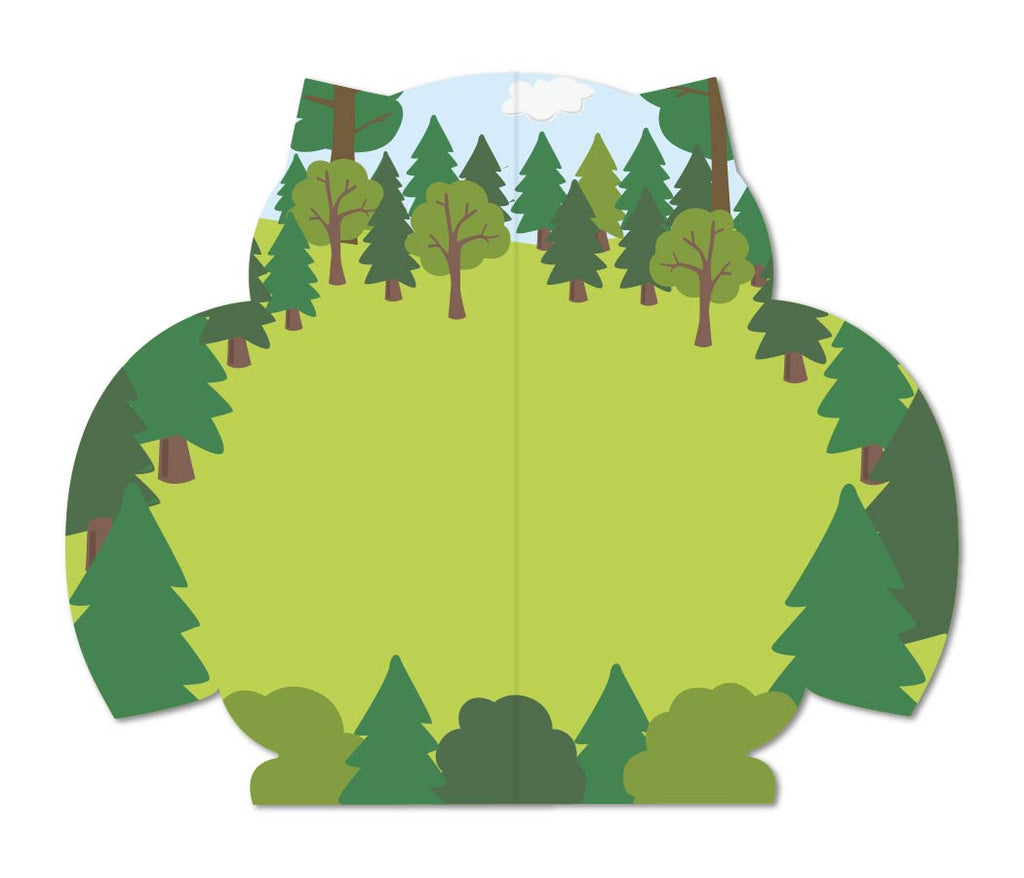 Woodland Owl Sticker Activity Book - Mrs. Grossman's