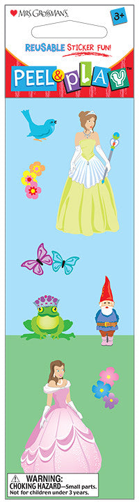 "Peel & Play 2"" Strip-Princess Stickers - Mrs. Grossman's"