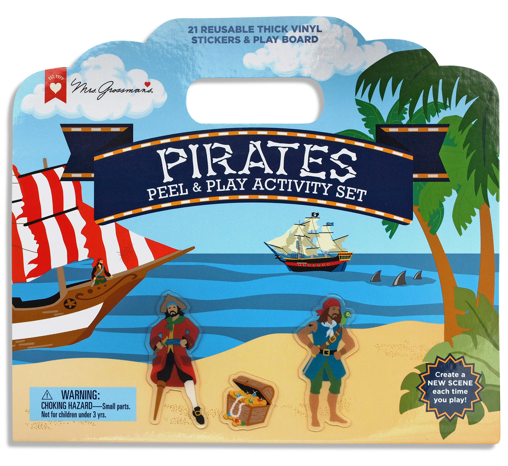 Pirates Peel and Play Activity Set