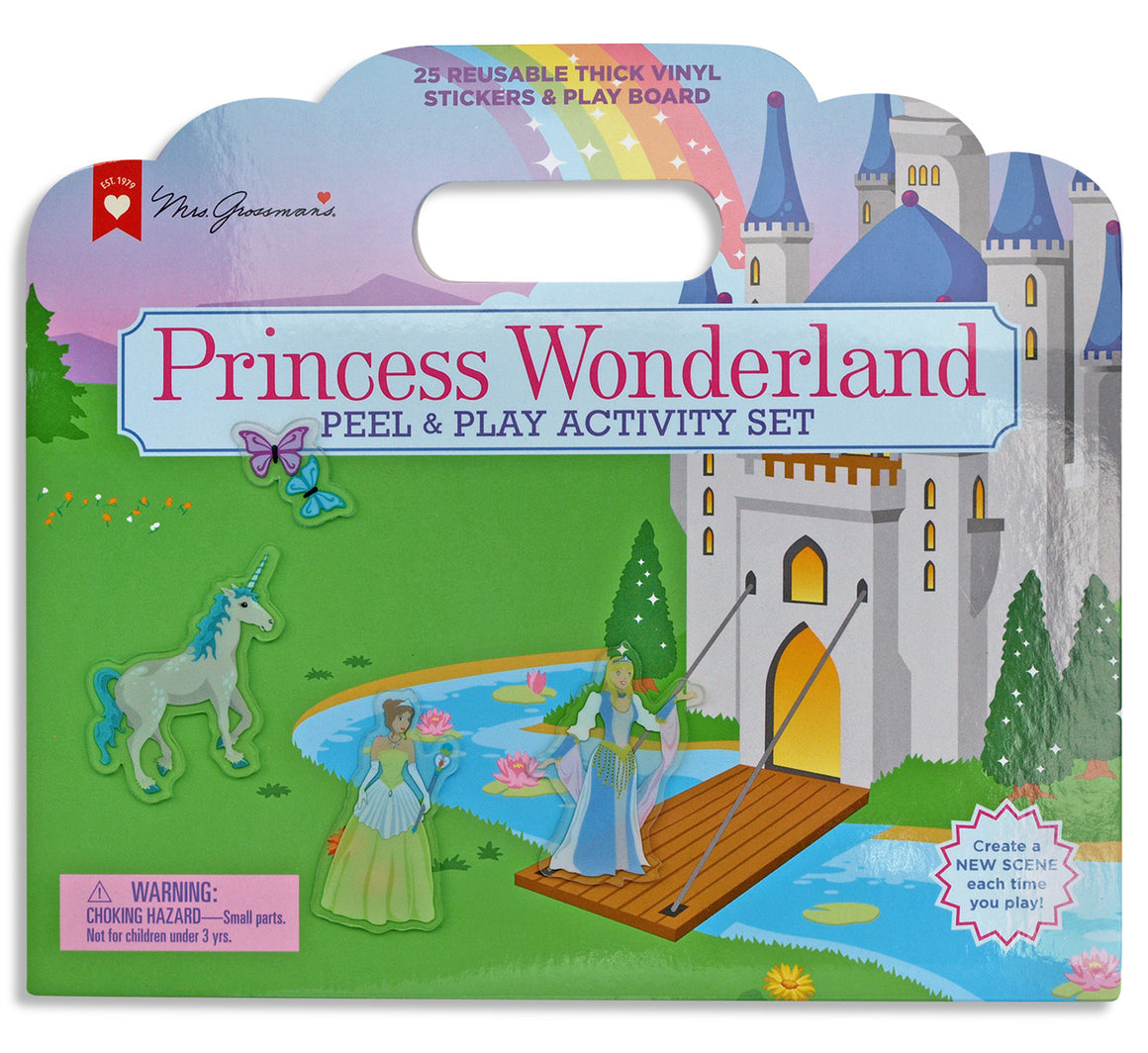 Princess Wonderland Peel and Play Activity Set - Mrs. Grossman's