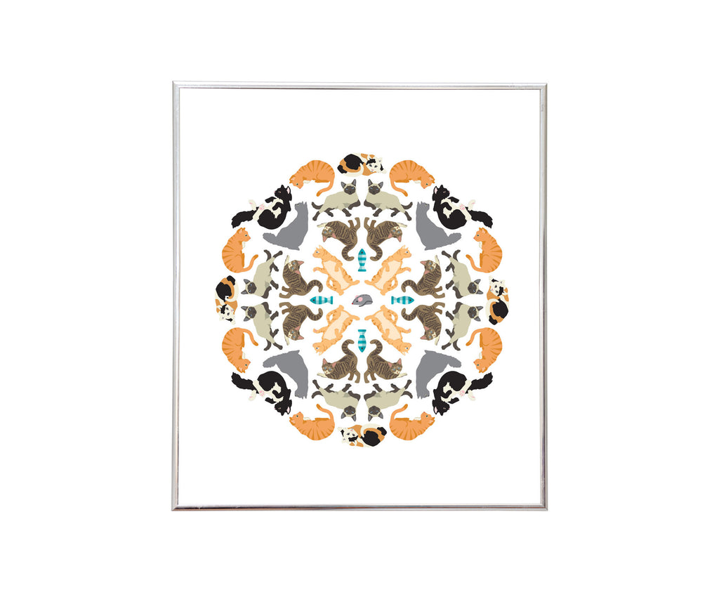 Purr-fect Sticker Kaleidoscope™ - Mrs. Grossman's