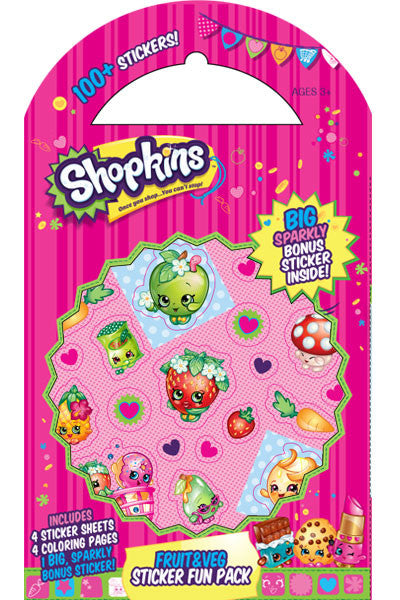 Shopkins™ Fruit & Veggie Sticker Fun Pack