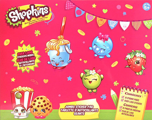 Shopkins™ Jumbo Sticker Pad