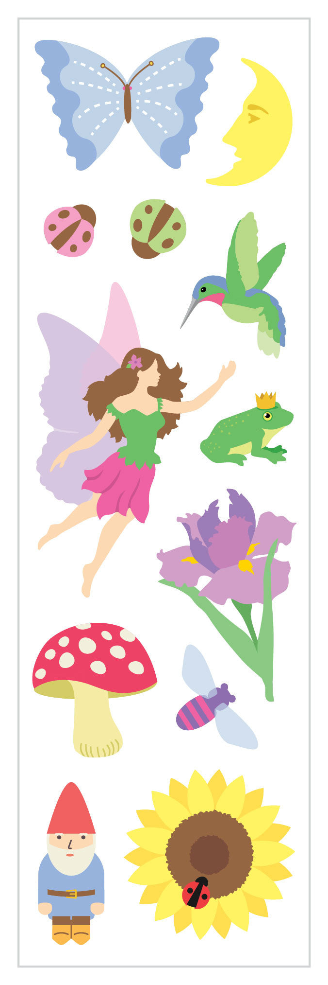 Fairy Fantasy Stickers - Mrs. Grossman's