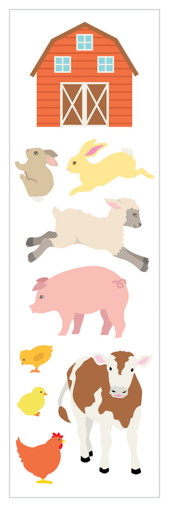 On the Farm Stickers - Mrs. Grossman's