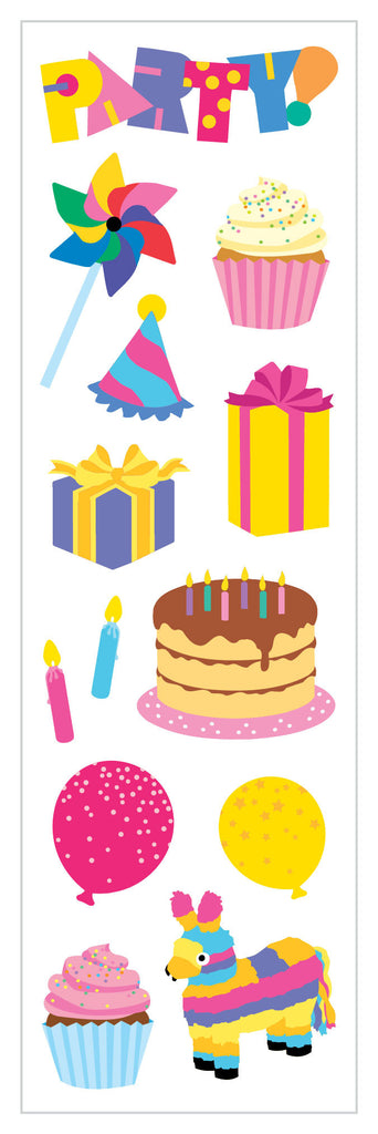 Party Time Stickers - Mrs. Grossman's