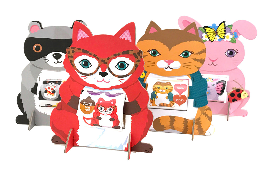 Kitty Cat Sticker Friend - Mrs. Grossman's