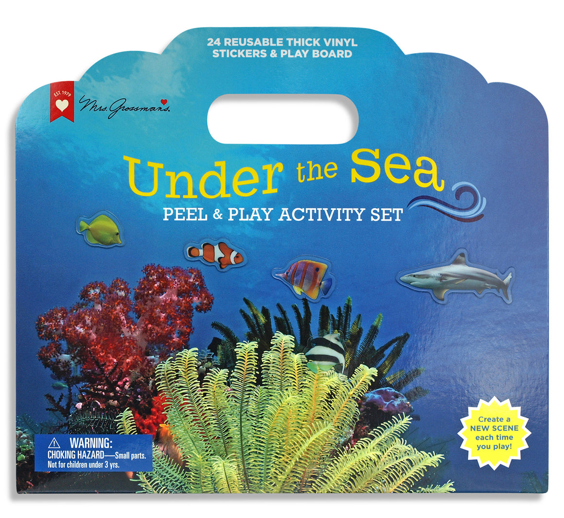 Under the Sea Peel & Play Sticker Activity Set