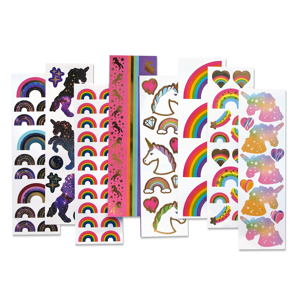 Unicorns & Rainbows Super Sticker Pack - Mrs. Grossman's