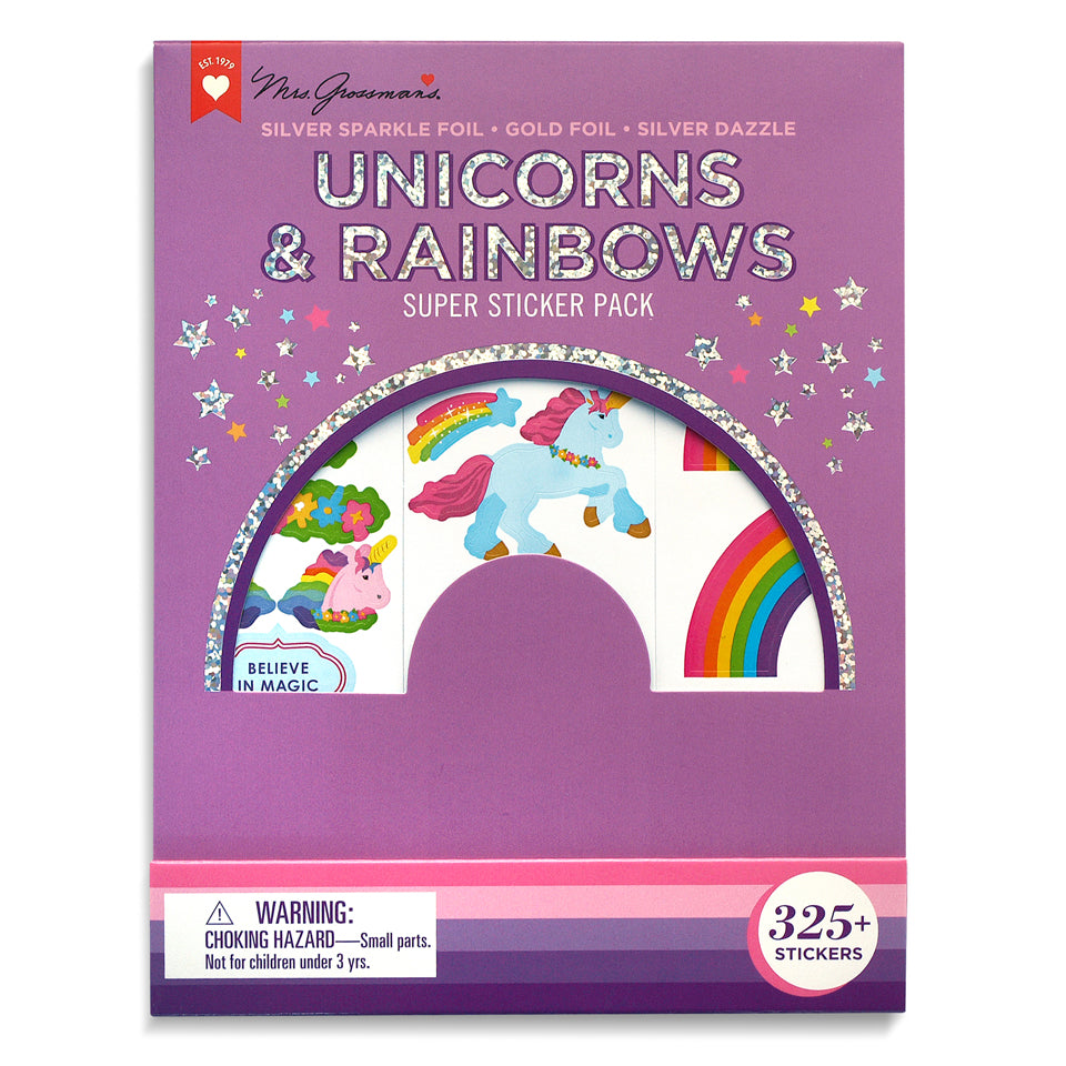 Unicorns & Rainbows Super Sticker Pack