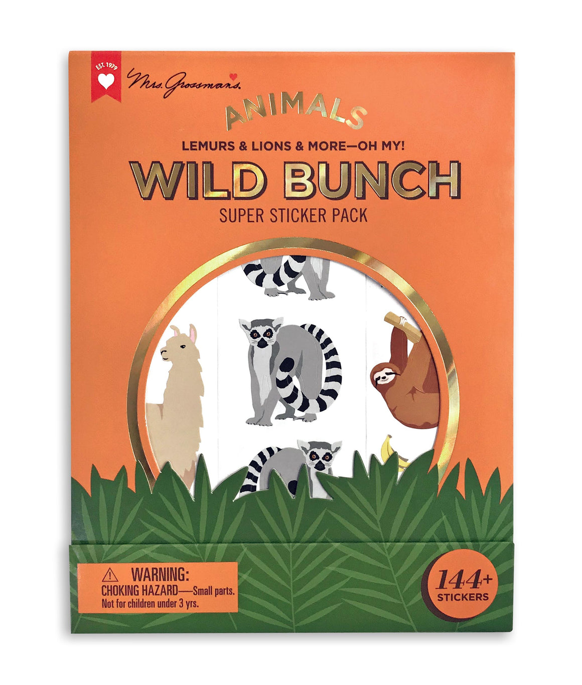 Wild Bunch Super Sticker Pack - Mrs. Grossman's
