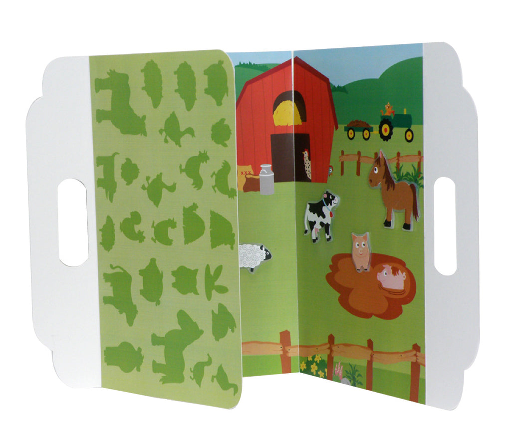 Barnyard Peel and Play Activity Set - Mrs. Grossman's