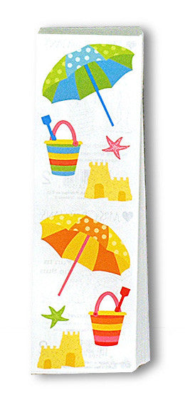 Beach Umbrella, Stickers, Mrs. Grossman's Sticker Factory