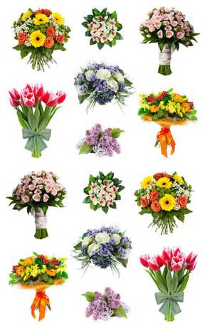 Beautiful Bouquets Stickers - Mrs. Grossman's