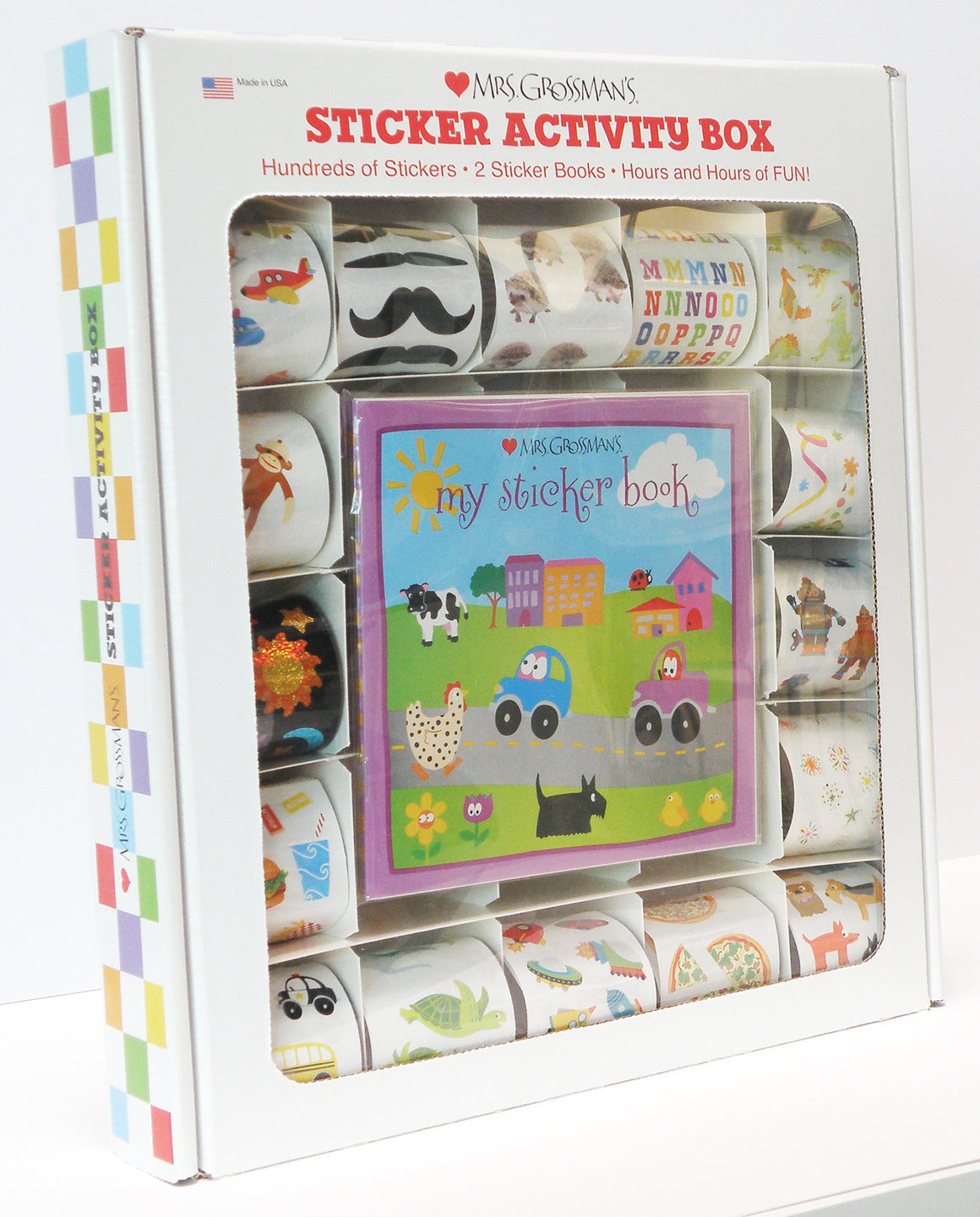 Sticker Activity Box, sticker, Mrs. Grossman's Stickers