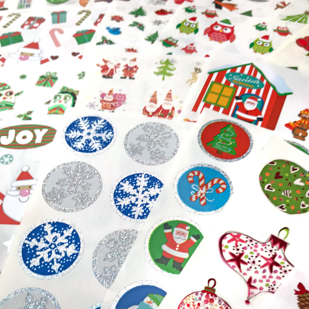 Christmas Sticker Bonanza Pack - Mrs. Grossman's