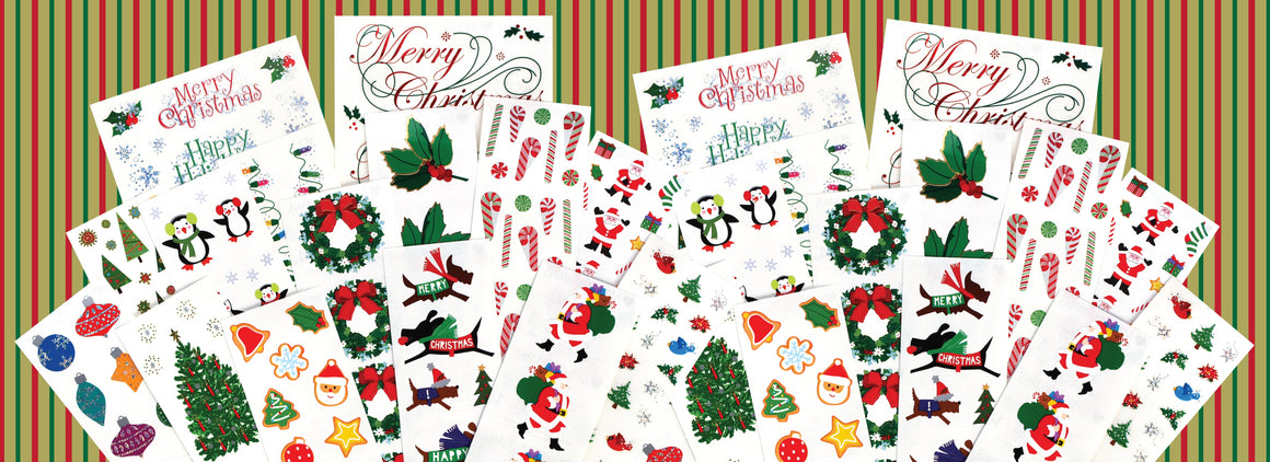 Winter Wishes Jumbo Sticker Pack - Mrs. Grossman's