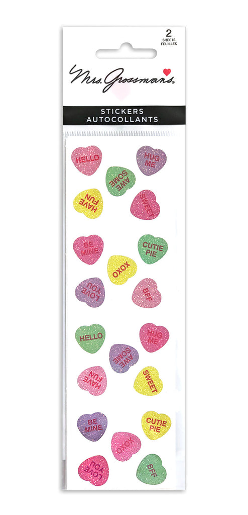 Pastel Candy Hearts - Mrs. Grossman's