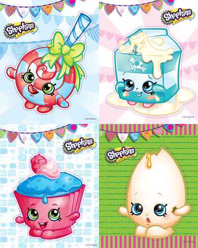 Shopkins, stickers, Mrs. Grossman's Sticker Factory