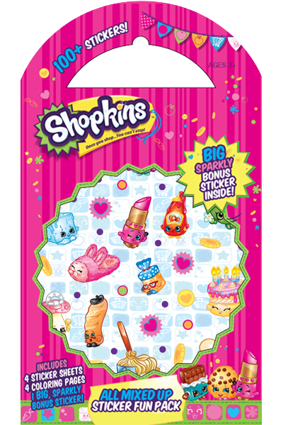 Shopkins™ All Mixed Up Sticker Fun Pack