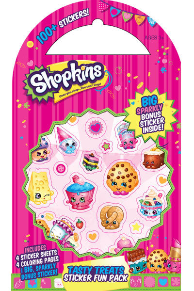 Shopkins™ Tasty Treats Sticker Fun Pack