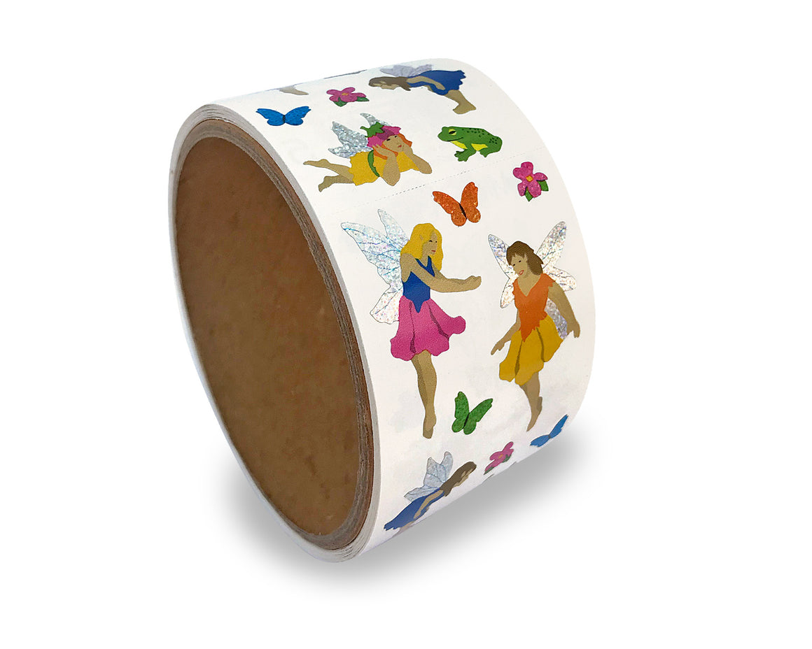 Fairies, Sparkle Sticker Roll
