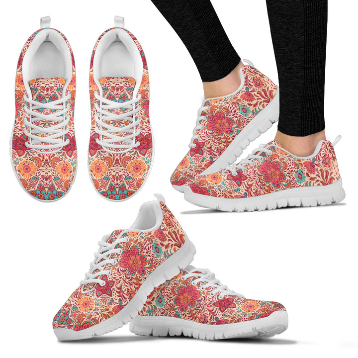 Abstract Women's Sneakers