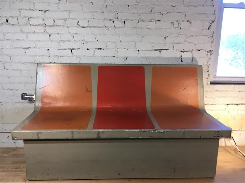 NYC Subway Car Bench - Three Seater