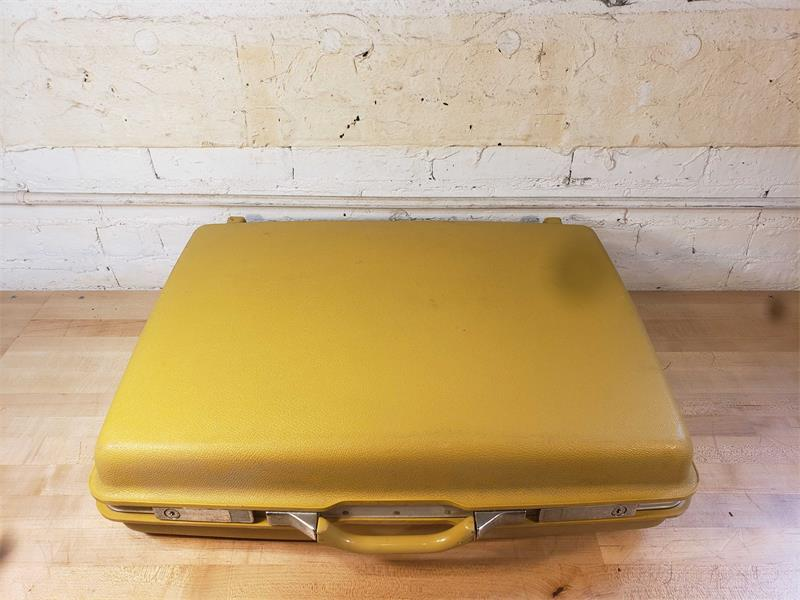 Yellow Hard Shell Suitcase