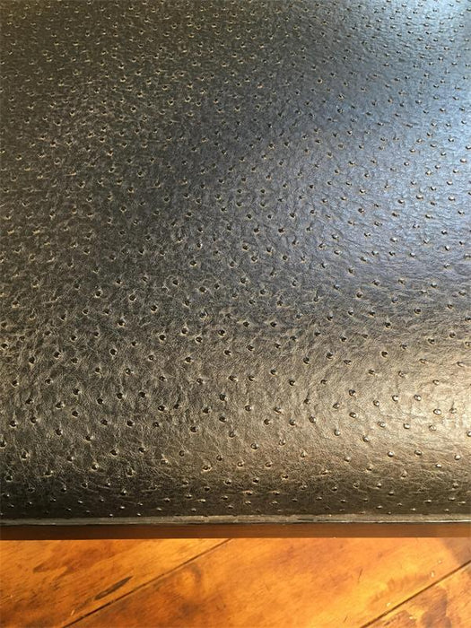 Wood Lounge Chair - Textured Black Seat Pad