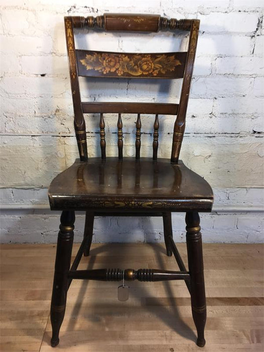 Ornate Spindle Back Dining Chair