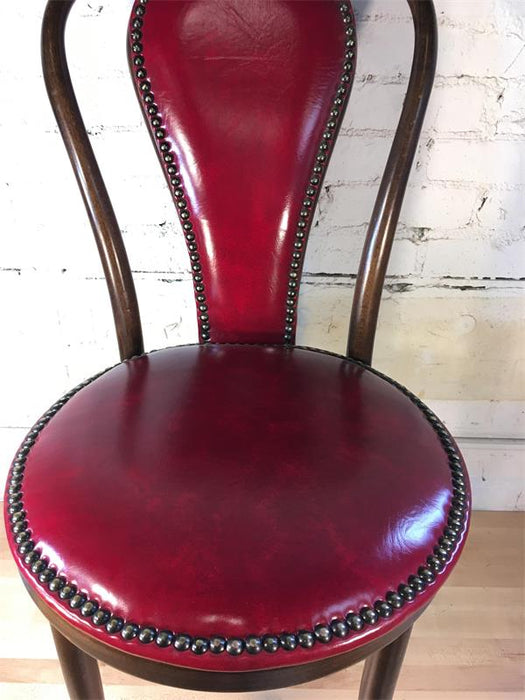 Brown Bentwood Chair