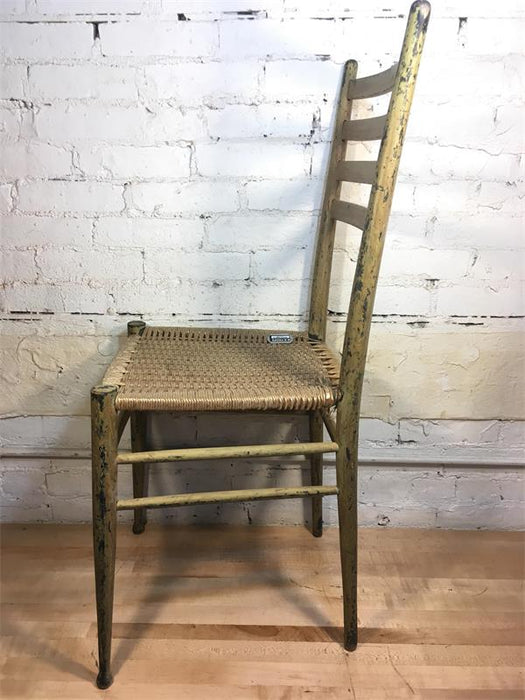 Wood Ladder Back Chair