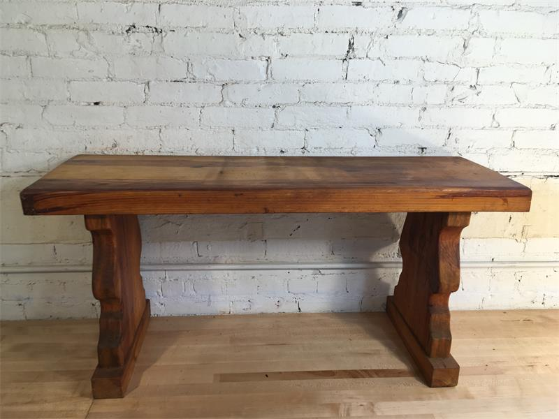 Reinforced Wood Bench