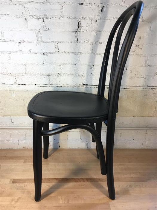 Black Bentwood Chair - Square Seat