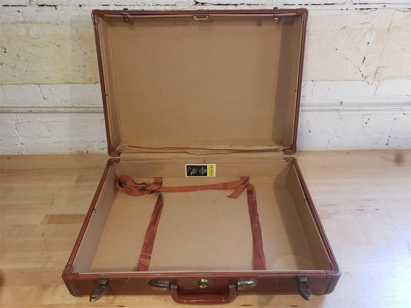 Red Hard Shell Suitcase