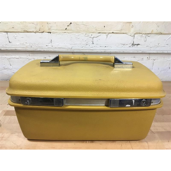 Yellow Train Case
